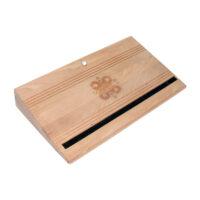 Энергетическая деревянная подставка для ног