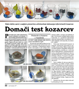 DOMAČI TEST KOZARCEV