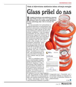 Glass prišel do nas