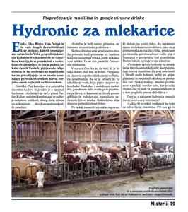 Hydronic za mlekarice