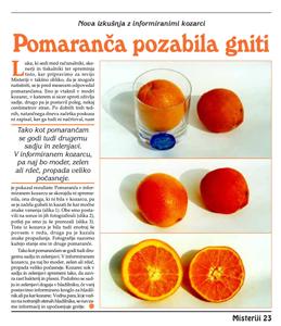 Pomaranča pozabilia gniti