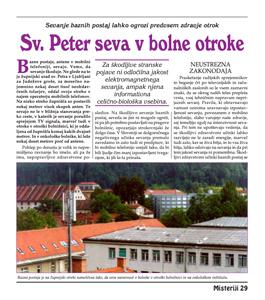 SV.PETER SEVA V BOLNE OTROKE