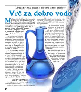Vrč za dobro vodo